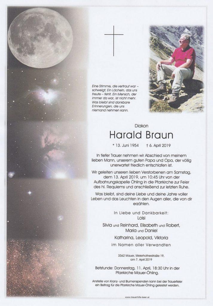 Parte Diakon Harald Braun